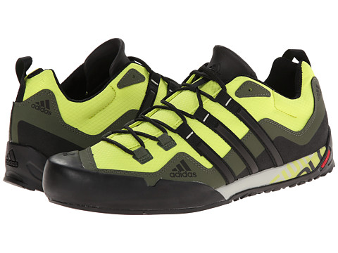 adidas Outdoor - Terrex Swift Solo (Semi Solar Yellow/Black/Base Green) Men