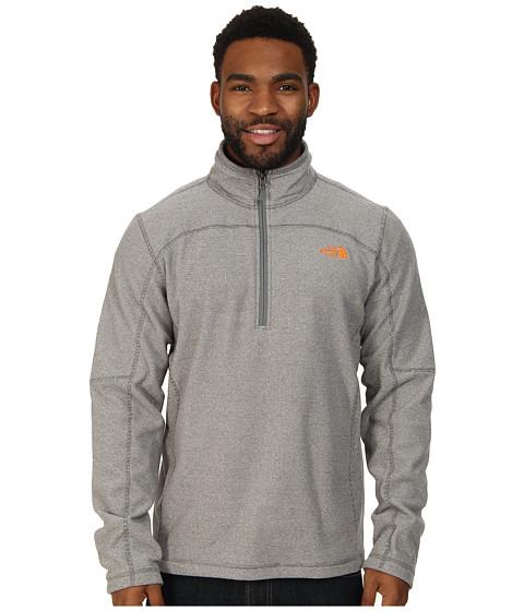 The North Face - Texture Cap Rock 1/4 Zip (Sedona Sage Grey) Men's Sweatshirt