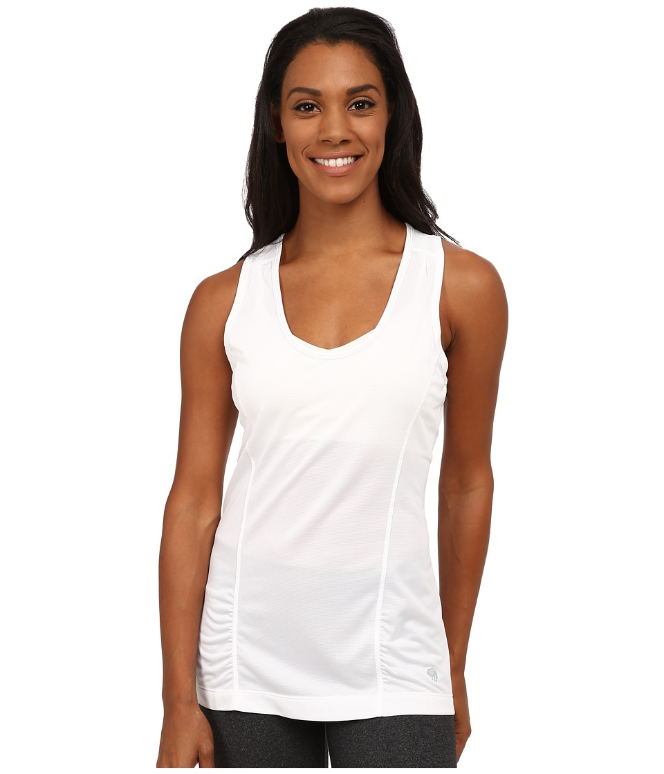 Mountain Hardwear - Wicked Lite Tank (White) Women's Sleeveless