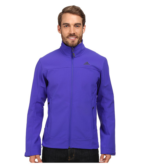 adidas Outdoor - Hiking Softshell Jacket (Night Flash) Men