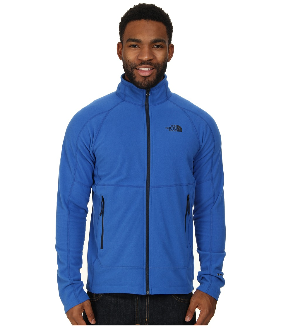 The North Face - Tech 100 Full Zip (Monster Blue) Men's Fleece