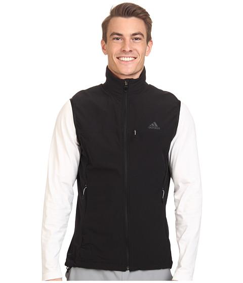 adidas Outdoor - Terrex Swift Softshell Vest (Black) Men