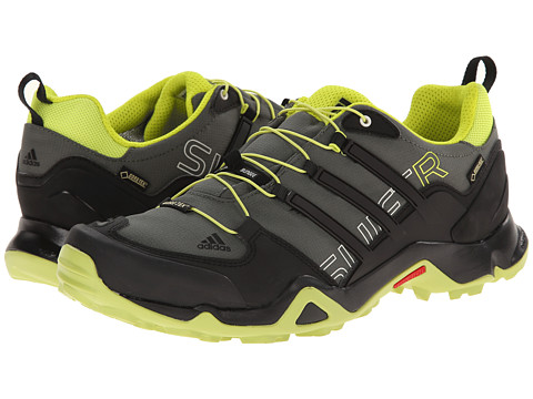 adidas Outdoor - Terrex Swift R GTX (Base Green/Black/Semi Solar Yellow) Men