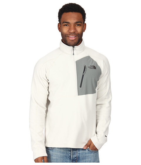 The North Face - Tech 100 1/2 Zip (Moonstruck Grey) Men
