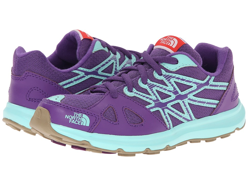The North Face Kids - Equity (Little Kid/Big Kid) (Imperial Purple/Bonnie Blue) Girls Shoes