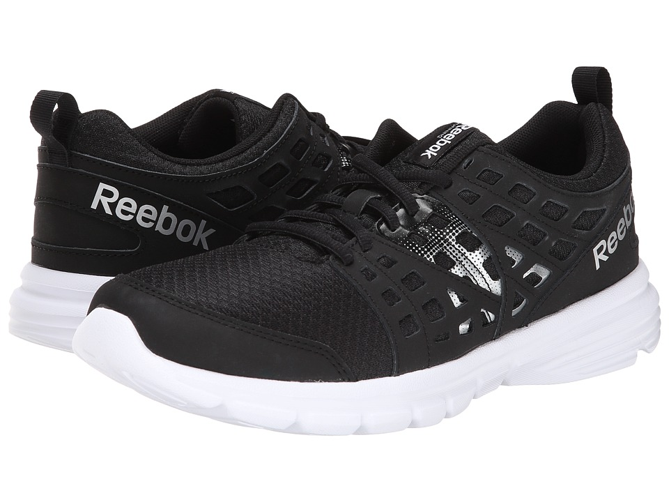 Reebok - Speed Rise (Black/Matte Silver/White) Men's Shoes