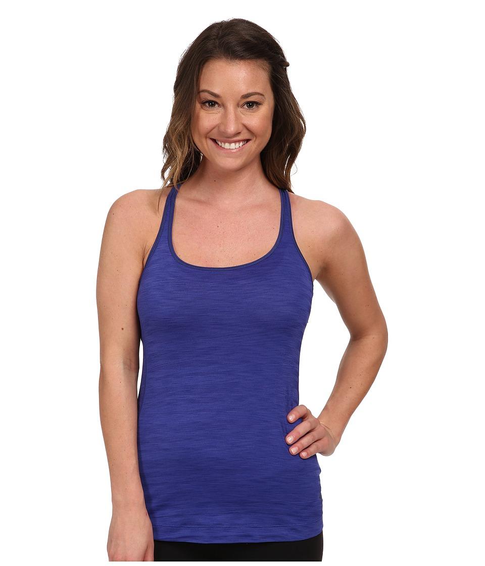 Mountain Hardwear Mighty Striped Tank (Nectar Blue) Women