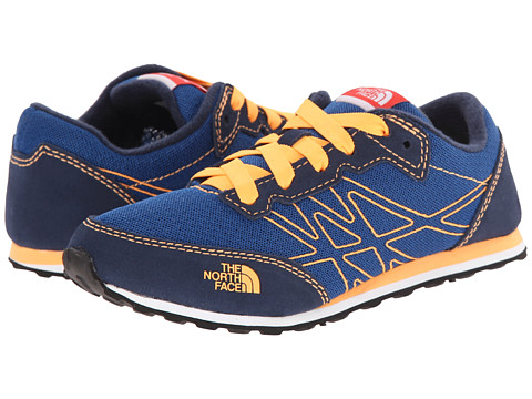 The North Face Kids - Kilowatt (Little Kid/Big Kid) (Cosmic Blue/Vitamin C Orange) Boy's Shoes