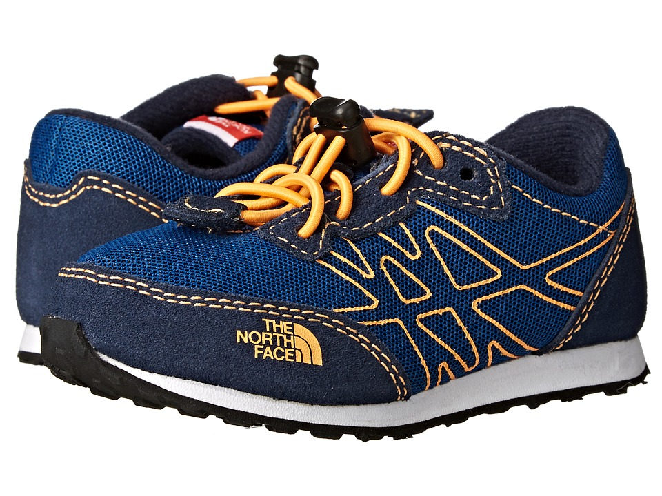 The North Face Kids - Kilowatt (Toddler/Little Kid) (Cosmic Blue/Vitamin C Orange) Boy's Shoes