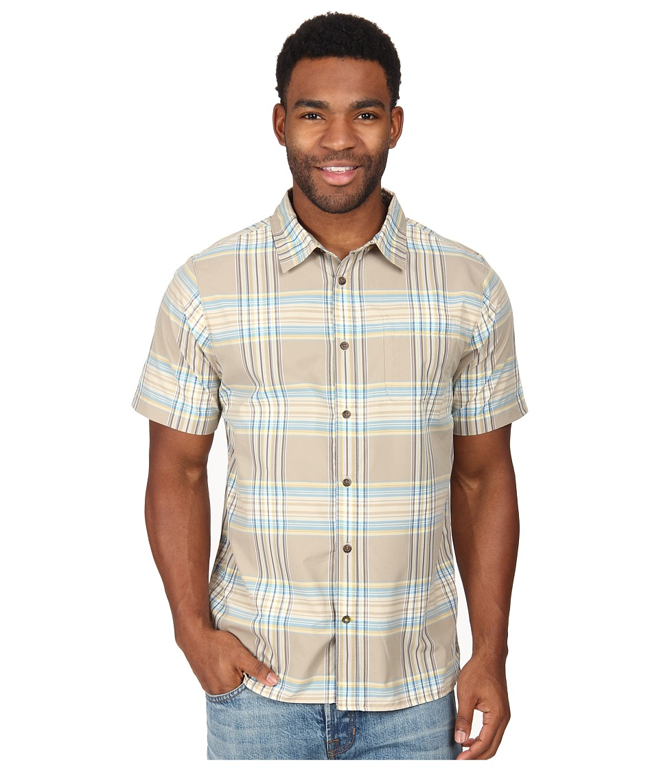 The North Face - Short Sleeve Pacific Coast Shirt (Dune Beige) Men