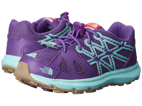 The North Face Kids - Equity (Toddler/Little Kid) (Imperial Purple/Bonnie Blue) Girls Shoes