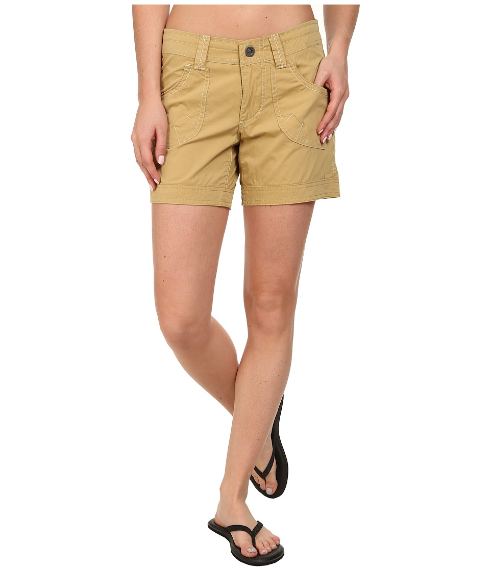 KUHL - Kontra Short 6 (Camel) Women's Shorts