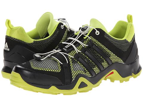 adidas Outdoor - Terrex Swift R Breeze (Base Green/Black/Semi Solar Yellow) Men's Shoes