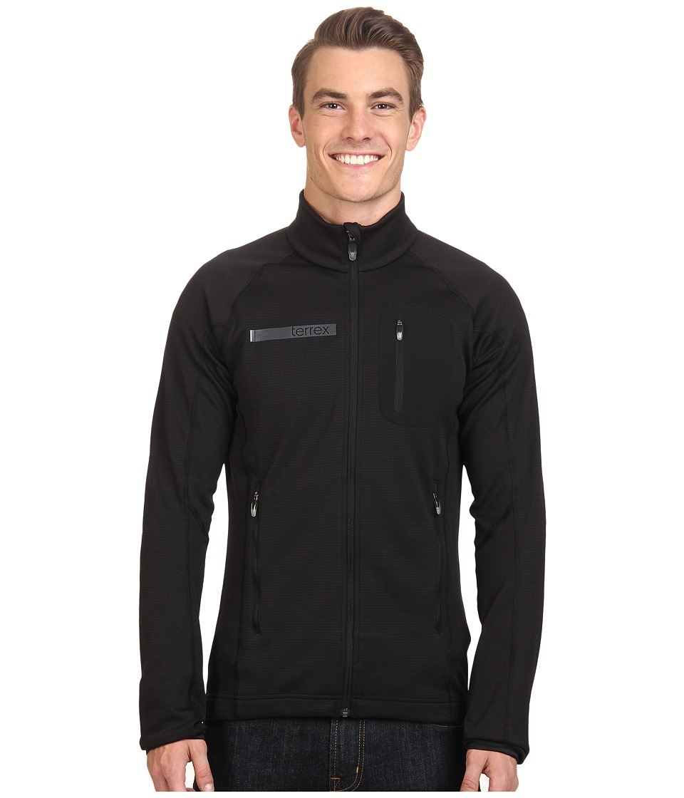 adidas Outdoor - Terrex Coco Fleece Jacket (Black) Men's Fleece