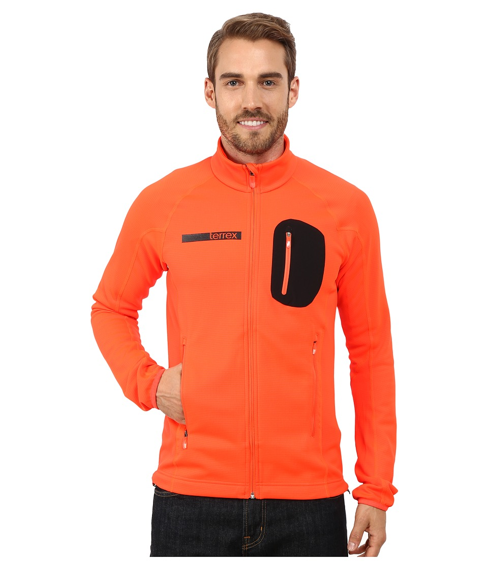 adidas Outdoor - Terrex Coco Fleece Jacket (Solar Red) Men