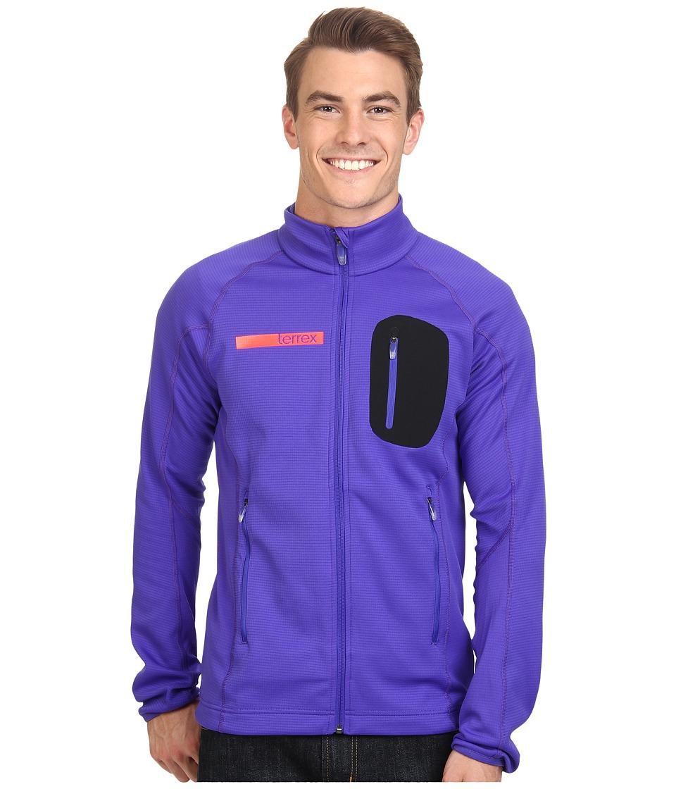 adidas Outdoor - Terrex Coco Fleece Jacket (Night Flash) Men