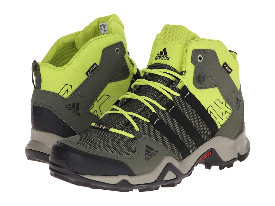adidas Outdoor - AX 2 Mid GTX (Col. Green) Men's Shoes