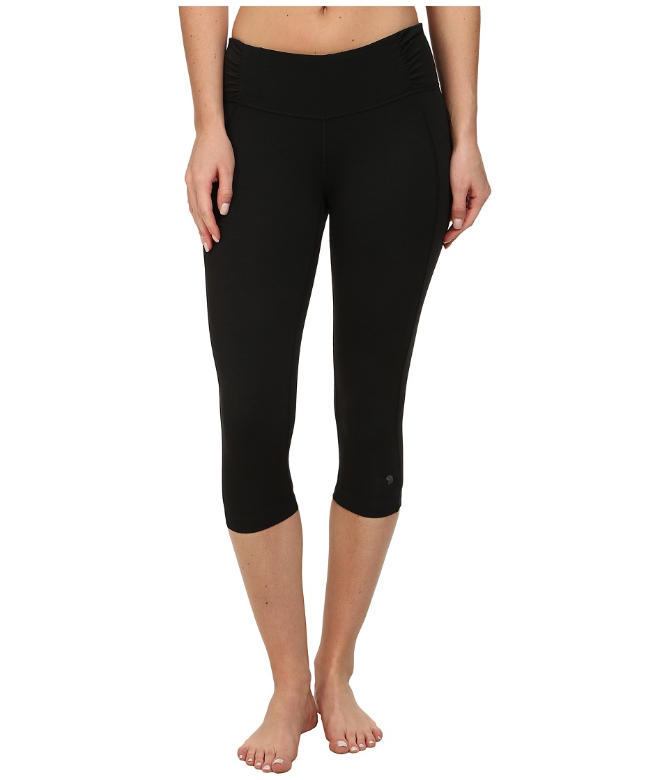 Mountain Hardwear Mighty Activatm Capri (Black) Women