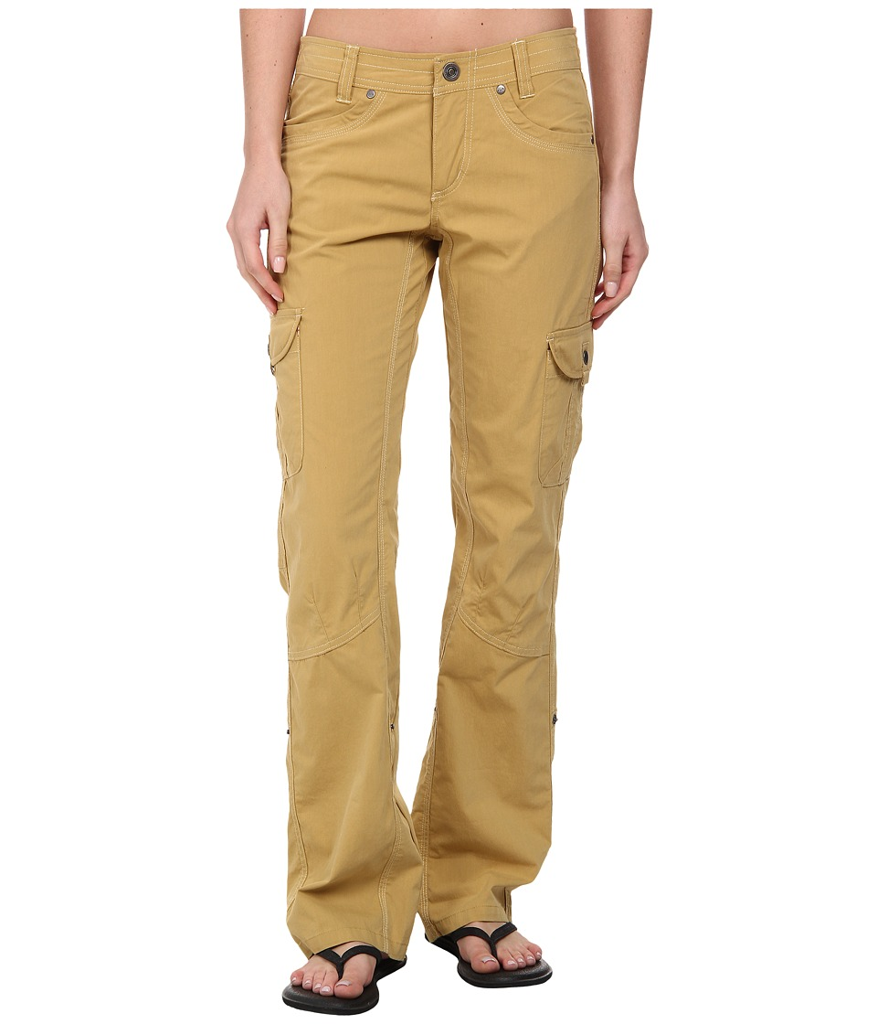 KUHL - Splash Roll-Up Pant (Camel) Women's Casual Pants