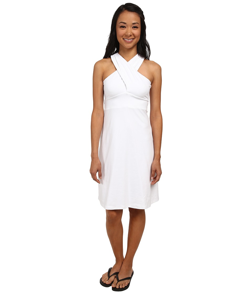 FIG Clothing - Bai Dress (White) Women's Dress