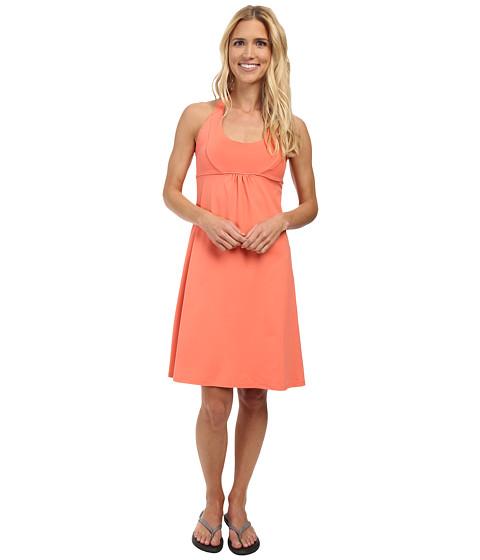 FIG Clothing - Hoi Dress (Papaya) Women's Dress