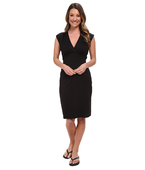 FIG Clothing - Aub Dress (Black) Women's Dress