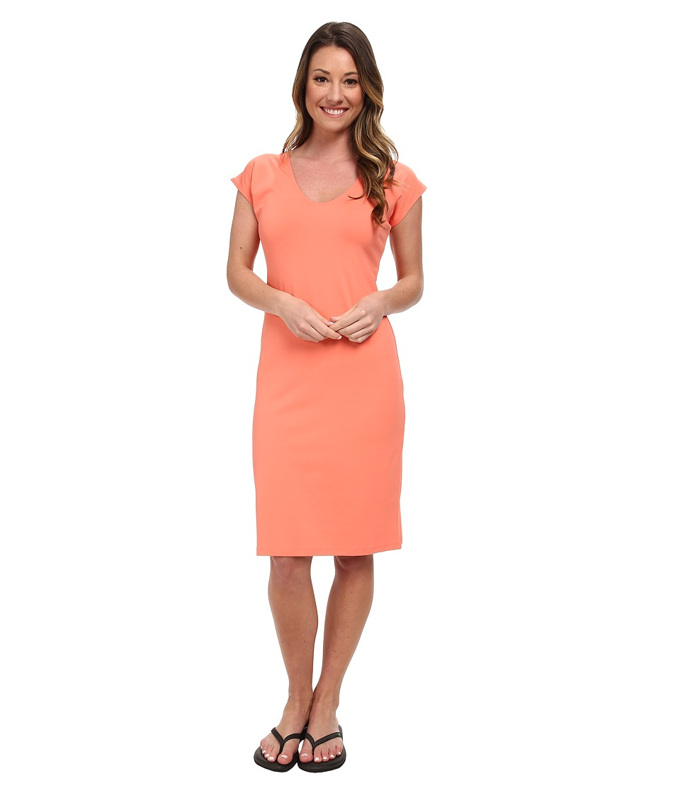 FIG Clothing - Gig Dress (Papaya) Women's Dress