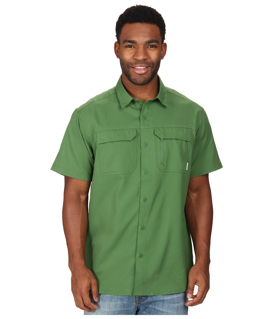 Columbia - Voyager S/S Shirt (Dark Backcountry) Men's Short Sleeve Button Up