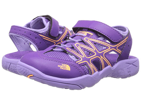 The North Face Kids - Hedgehog Sandal (Toddler/Little Kid/Big Kid) (Imperial Purple/Vitamin C Orange) Girls Shoes