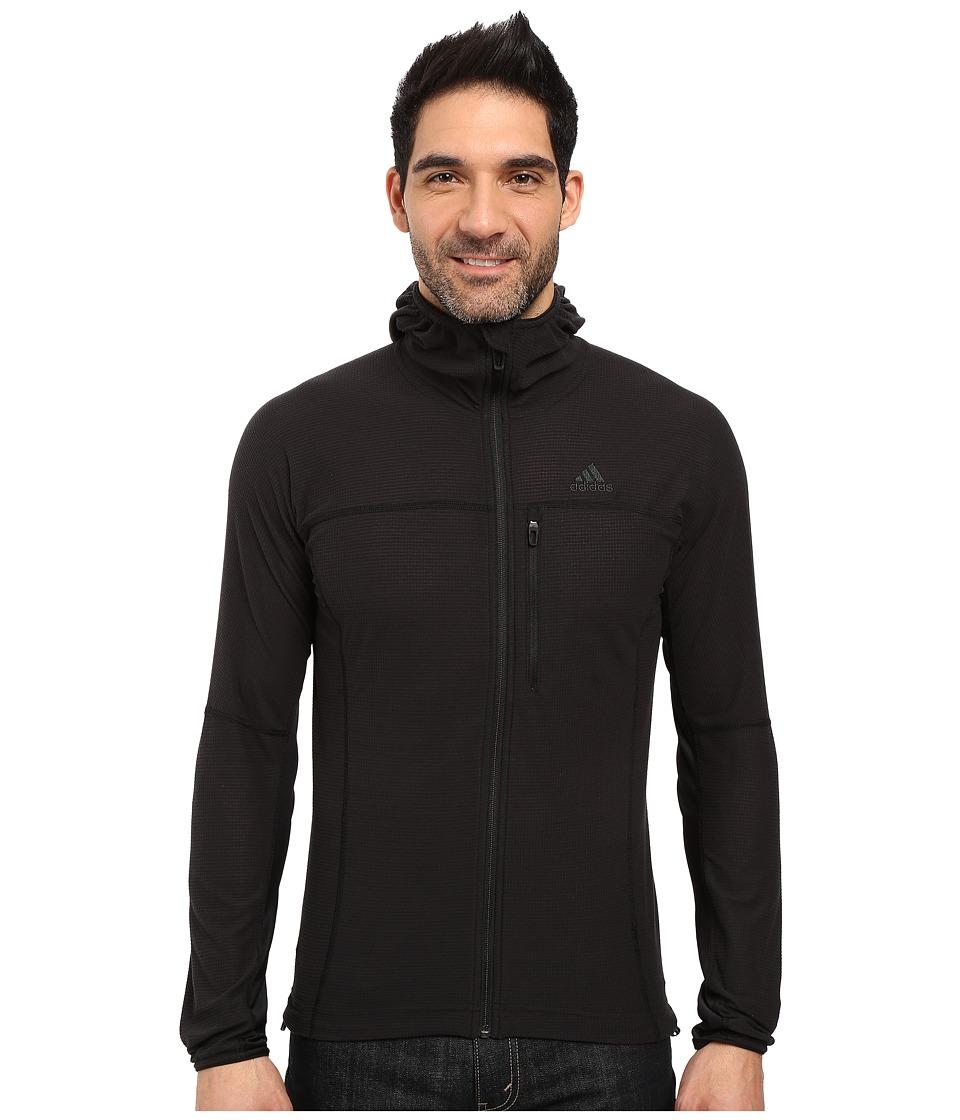 adidas Outdoor - Terrex Swift 37.5 Fleece Hoodie (Black) Men's Fleece