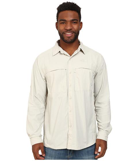 The North Face - Long Sleeve Cool Horizon Shirt (Moonstruck Grey) Men's Long Sleeve Button Up