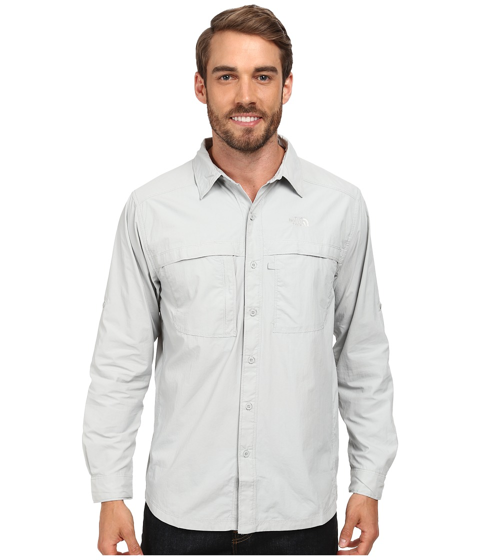 The North Face - Long Sleeve Cool Horizon Shirt (High Rise Grey) Men's Long Sleeve Button Up