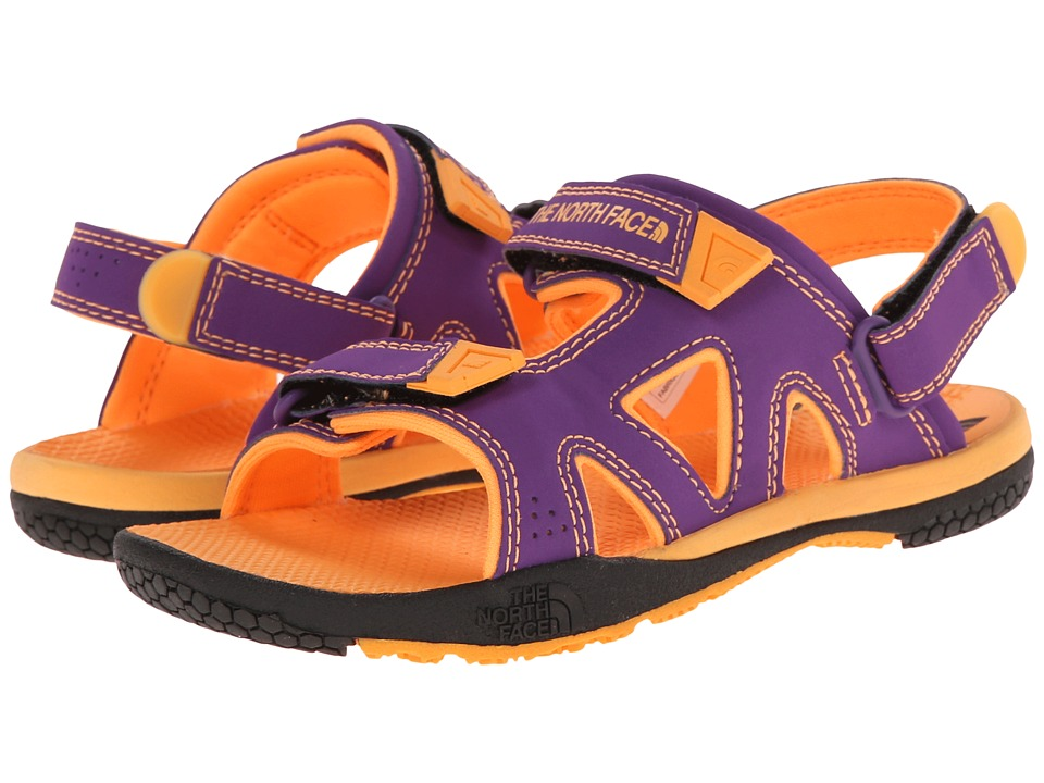 The North Face Kids - Coast Ridge (Toddler/Little Kid/Big Kid) (Imperial Purple/Vitamin C Orange) Girls Shoes