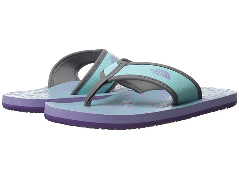 The North Face Kids - Base Camp Flip-Flop (Toddler/Little Kid/Big Kid) (Bonnie Blue/Violet Tulip Purple) Girls Shoes