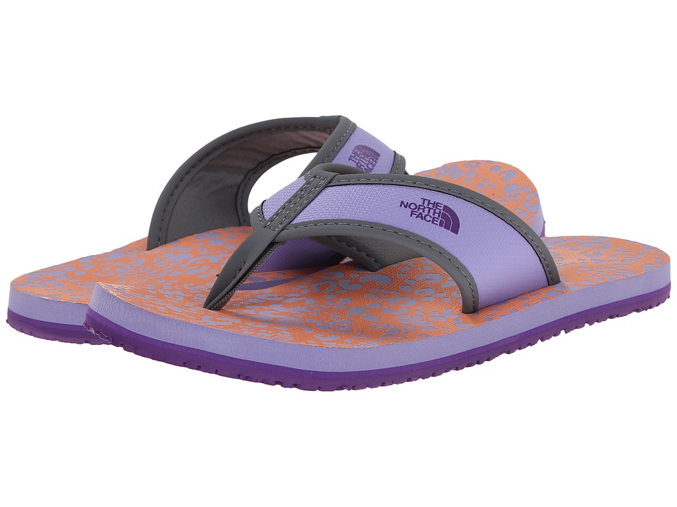 The North Face Kids - Base Camp Flip-Flop (Toddler/Little Kid/Big Kid) (Violet Tulip Purple/Vitamin C Orange) Girls Shoes