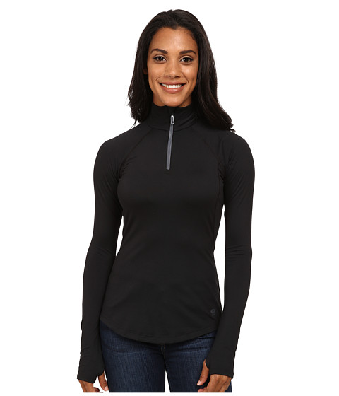 Mountain Hardwear - Butter Zippity Top (Black Graphite) Women