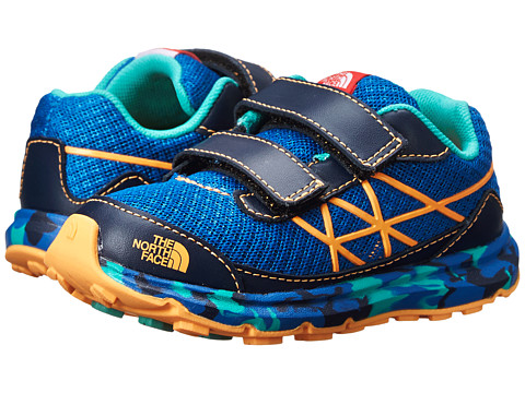 The North Face Kids - Ultra (Toddler/Little Kid) (Snorkel Blue/Vitamin C Orange) Boys Shoes