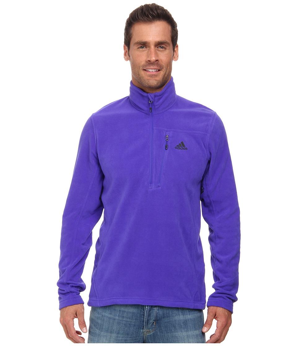 adidas Outdoor - Hiking Reachout Fleece (Night Flash) Men's Fleece