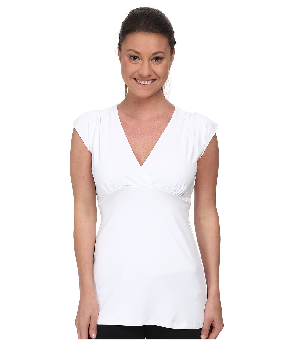 FIG Clothing - Aub Top (White) Women's Sleeveless