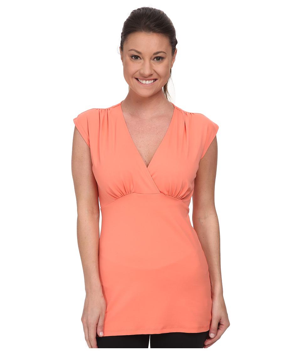 FIG Clothing - Aub Top (Papaya) Women's Sleeveless