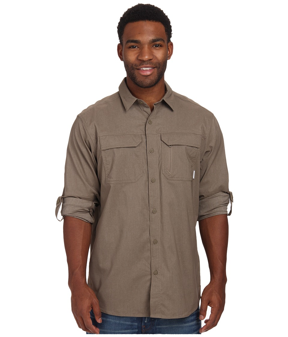 Columbia - Royce Peak II L/S Shirt (Wet Sand) Men's Long Sleeve Button Up