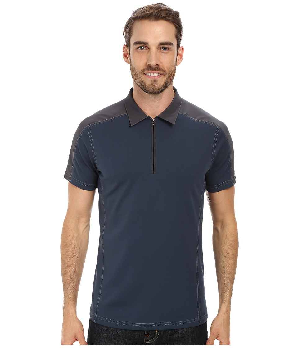 Kuhl - Shadow Polo Shirt (Pirate Blue) Men's Short Sleeve Pullover