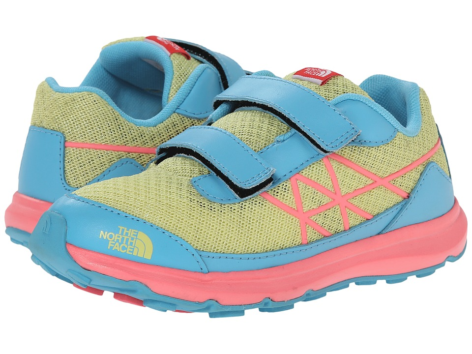 The North Face Kids - Utlra (Toddler/Little Kid) (Chiffon Yellow/Fortuna Blue) Girls Shoes