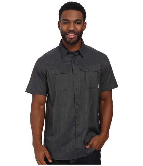 Columbia - Royce Peak II S/S Shirt (Shark) Men's Short Sleeve Button Up