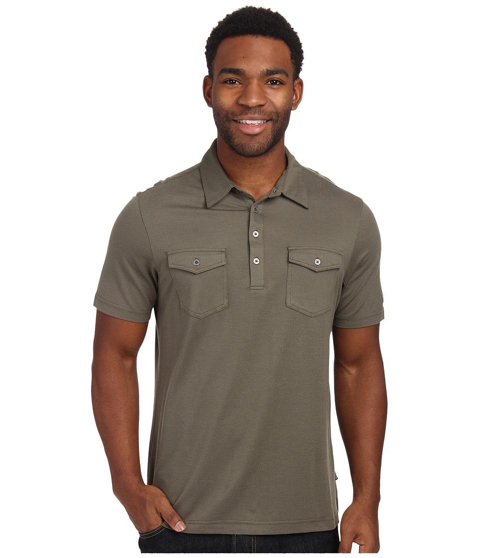 Kuhl - Icelandr S/S Shirt (Olive) Men's Short Sleeve Pullover