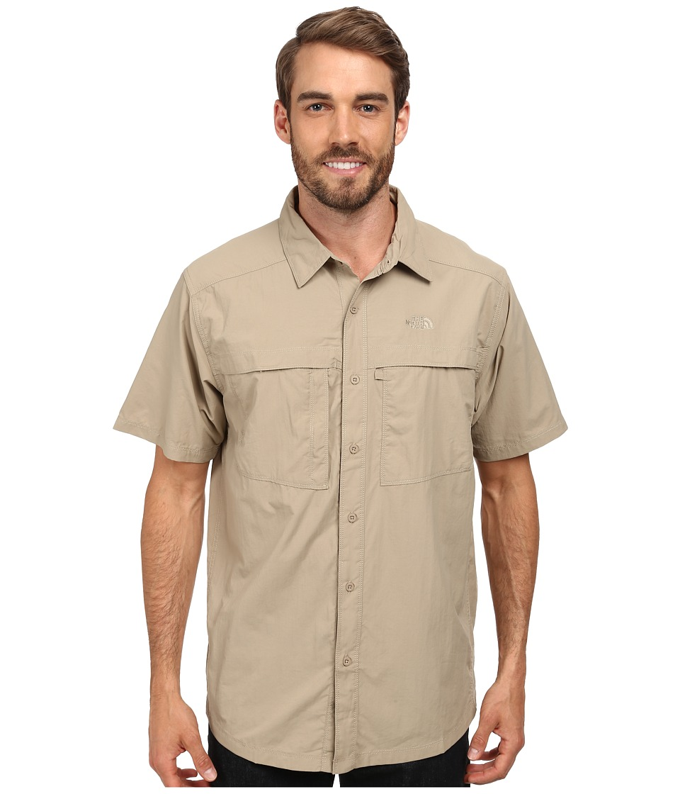 The North Face - Short Sleeve Cool Horizon Shirt (Dune Beige) Men's Short Sleeve Button Up