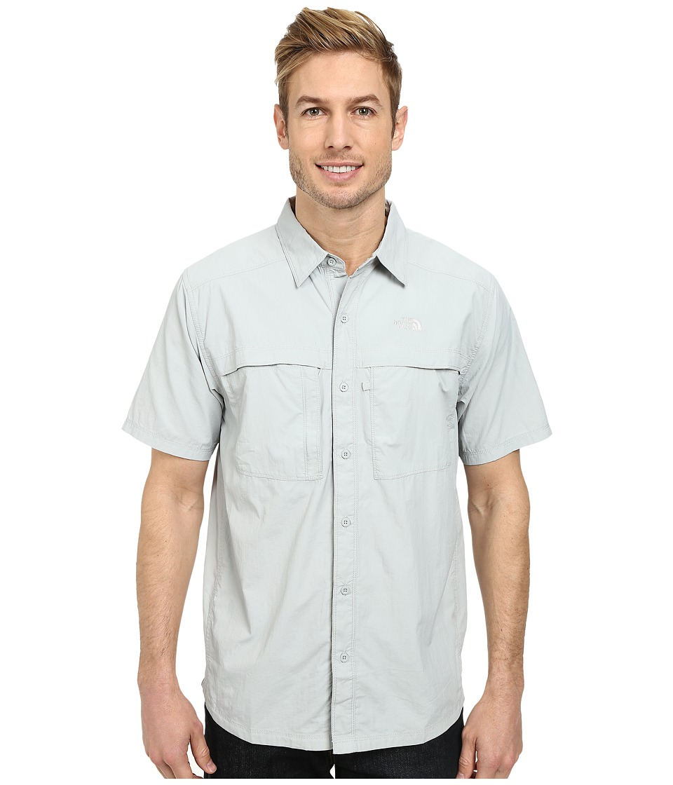 The North Face - Short Sleeve Cool Horizon Shirt (High Rise Grey) Men