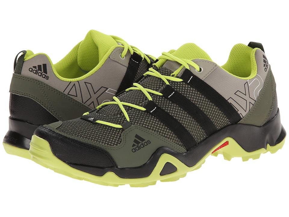 adidas Outdoor - AX 2 (Base Green/Black/Semi Solar Yellow) Men's Shoes