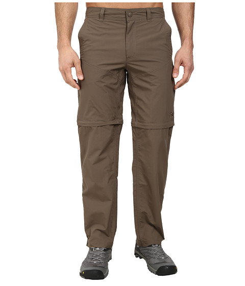 The North Face - Horizon Convertible Pant (Weimaraner Brown) Men