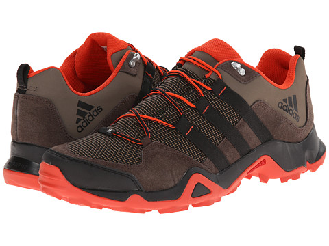 adidas Outdoor - Brushwood Mesh (Grey Blend/Black/Bold Orange) Men's Shoes